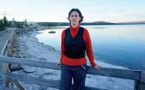 Daniela at Yellowstone