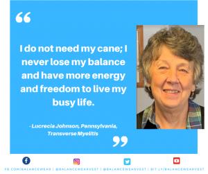 Transverse Myelitis Patient Testimonial