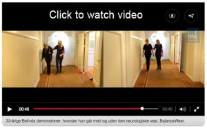 BalanceWear was featured on Good Morning Denmark (their Good Morning America)